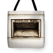 Bundled Mail Tote Bag by Scott Pellegrin