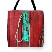 Buoys At Rockport Motif Number One Tote Bag by Jon Holiday