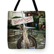 Burma Shave Sign Tote Bag by RicardMN Photography
