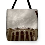 Busch Stadium - St. Louis Cardinals 7 Tote Bag by Frank Romeo
