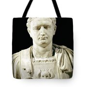 Bust Of Emperor Domitian Tote Bag by Anonymous