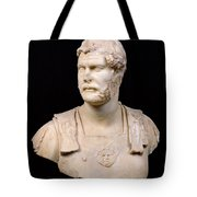 Bust Of Emperor Hadrian Tote Bag by Anonymous