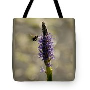 Busy Bee Tote Bag by Donna Stiffler