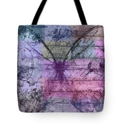 Butterfly Art - Ab25a Tote Bag by Variance Collections