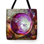 Butterfly Garden Globe Tote Bag by Robin Moline