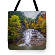 Buttermilk Falls Tote Bag by Mark Papke