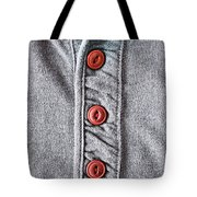 Buttons Tote Bag by Tom Gowanlock
