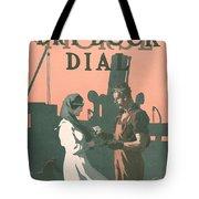 Buy A Bond Tote Bag by Edward Hopper