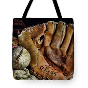 Buy Me Some Peanuts And Cracker Jacks Tote Bag by Ken Smith
