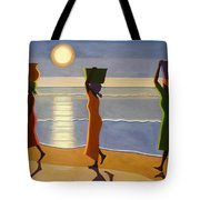By The Beach Tote Bag by Tilly Willis