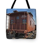 Caboose Tote Bag by Skip Willits