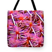 Cactus Pattern 2 Pink Tote Bag by Amy Vangsgard
