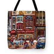 Cafe Bistro La Marinara Tote Bag by Carole Spandau