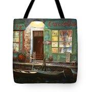 caffe Carlotta Tote Bag by Guido Borelli