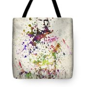Cain Velasquez Tote Bag by Aged Pixel