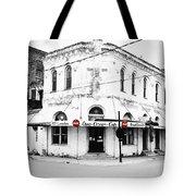 Cajun Corner Cafe Tote Bag by Scott Pellegrin