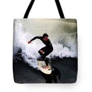 California Surfer Tote Bag by Catherine Sherman