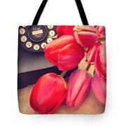 Call Me My Love Tote Bag by Edward Fielding