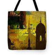 Calligraphy Tote Bag by Corporate Art Task Force