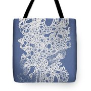 Callymenia Cribrosa Tote Bag by Aged Pixel