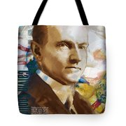 Calvin Coolidge Tote Bag by Corporate Art Task Force