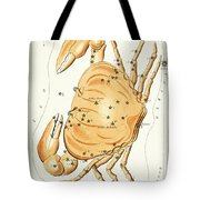Cancer Constellation - 1825 Tote Bag by Daniel Hagerman