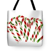Candy Canes Tote Bag by Elena Elisseeva