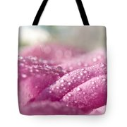 Candy Curves. Natural Watercolor. Touch Of Japanese Style Tote Bag by Jenny Rainbow