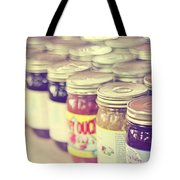 Canned Tote Bag by Amy Tyler