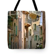 Cannes - Le Suquet - France Tote Bag by Christine Till