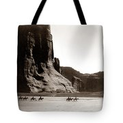 Canonde Chelly Az 1904 Tote Bag by Edward S Curtis