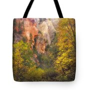 Canyon Kaleidoscope  Tote Bag by Peter Coskun