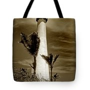 Cape Florida Lighthouse Tote Bag by Skip Willits