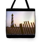 Cape Hatteras Lighthouse Tote Bag by Mike McGlothlen