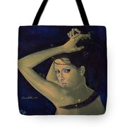 Capricorn From Zodiac Series Tote Bag by Dorina  Costras