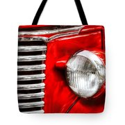 Car - Chevrolet Tote Bag by Mike Savad