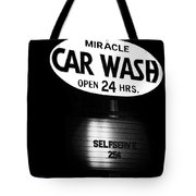 Car Wash Tote Bag by Tom Mc Nemar