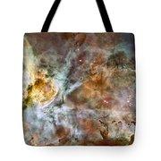 Carina Nebula Tote Bag by Adam Romanowicz