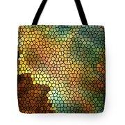 Carina Nebula Mosaic  Tote Bag by The  Vault - Jennifer Rondinelli Reilly