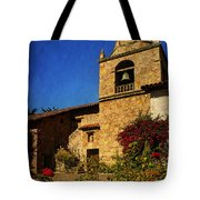 Carmel Mission Tote Bag by Priscilla Burgers