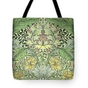 Carnations Design Tote Bag by William Morris