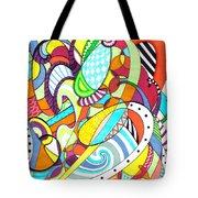 Carnival  Tote Bag by Shawna Rowe