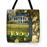 Carnton Plantation Tote Bag by Brian Jannsen
