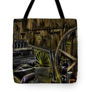Carriage House Tote Bag by Jay Droggitis