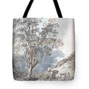 Cart And Horse Tote Bag by Joseph Constantine Stadler
