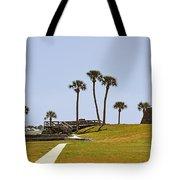Castillo De San Marcos St Augustine Fl Tote Bag by Christine Till