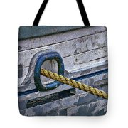 Cat Hole and Hawser Tote Bag by Marty Saccone