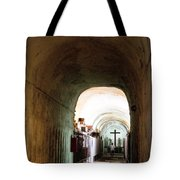 Catacombs in Palermo Tote Bag by David Smith