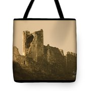 Catapult At Lastours  Tote Bag by France  Art