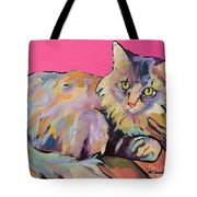 Catatonic Tote Bag by Pat Saunders-White